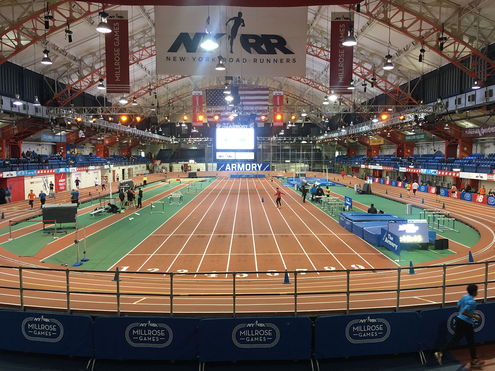 track time: my day at the the armory nyc