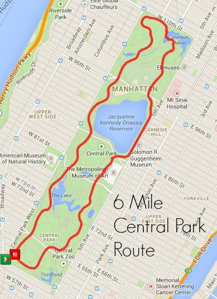 running in new york city best running routes in nyc