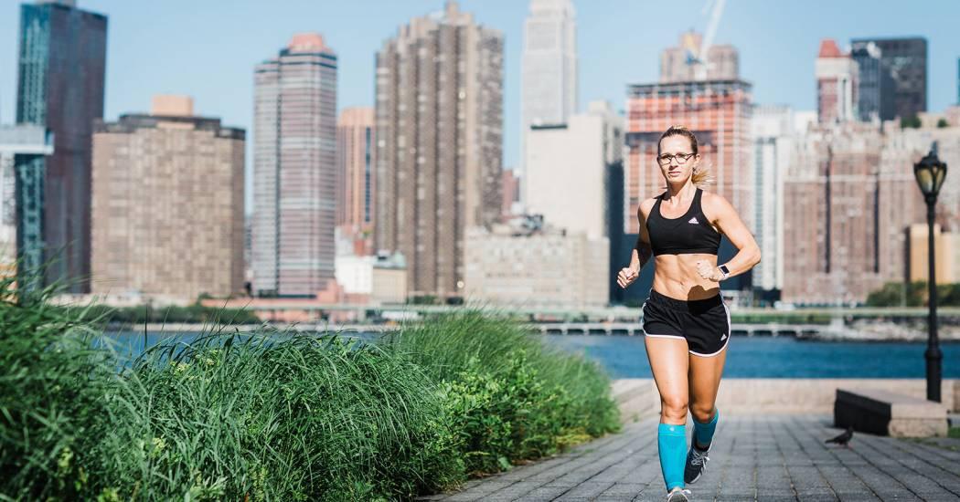 burn fat while running