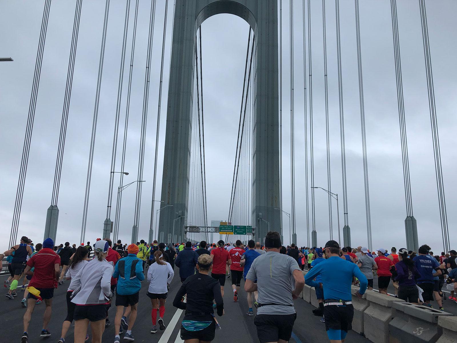 NYC Marathon experience