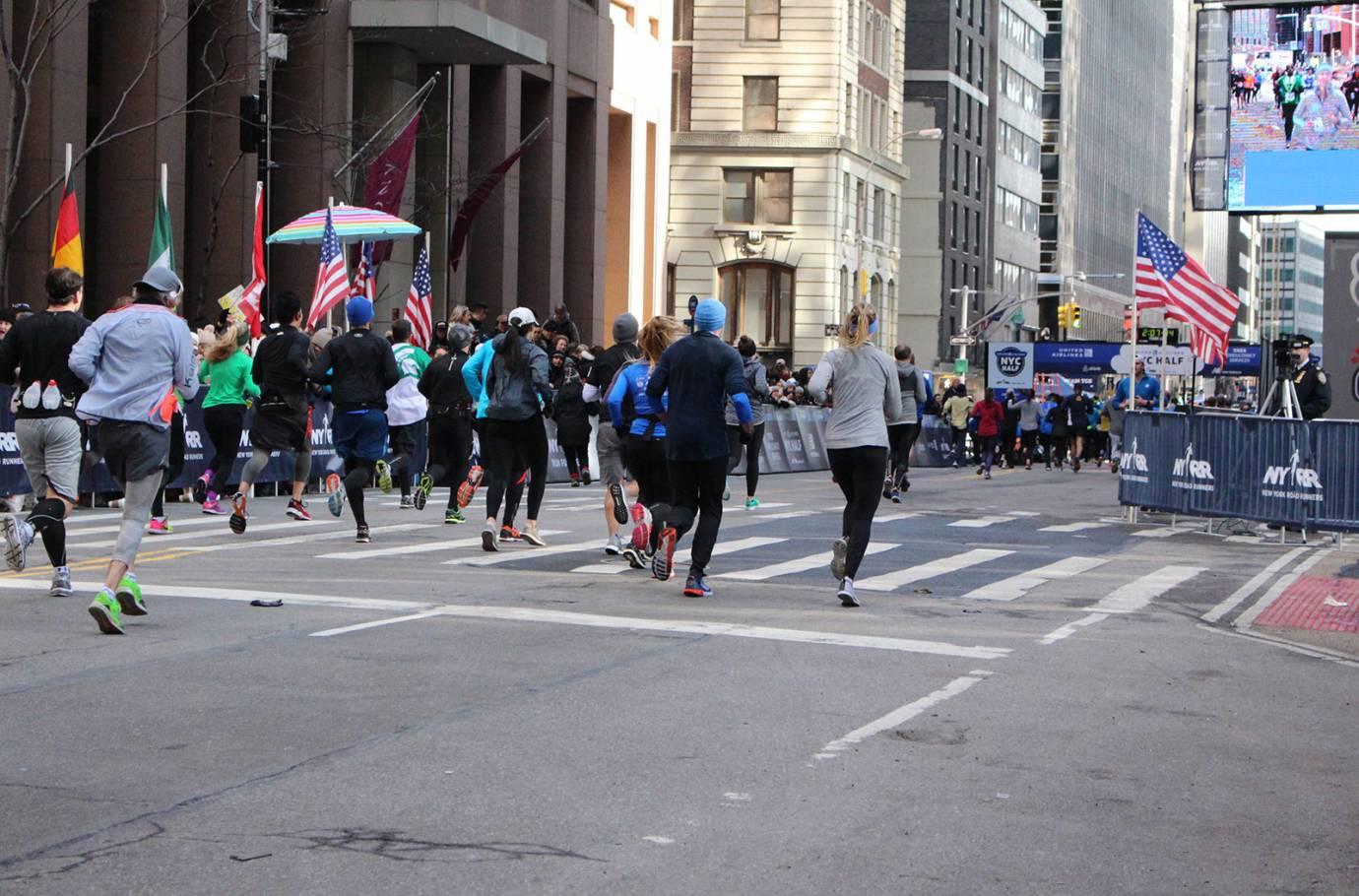 NYC Half Marathon course