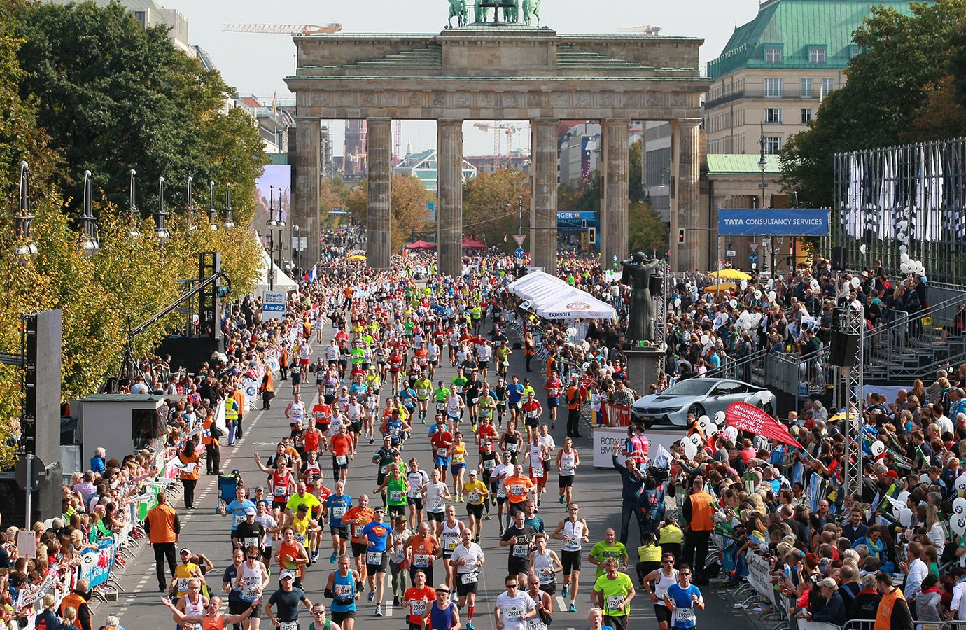 Berlin Marathon  Course