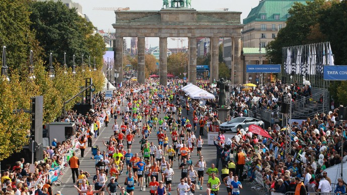 Berlin Marathon 2018 course