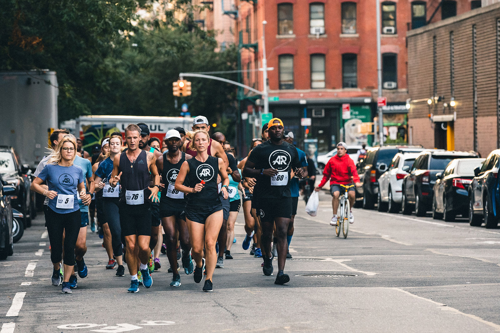 community run with adidas runners nyc