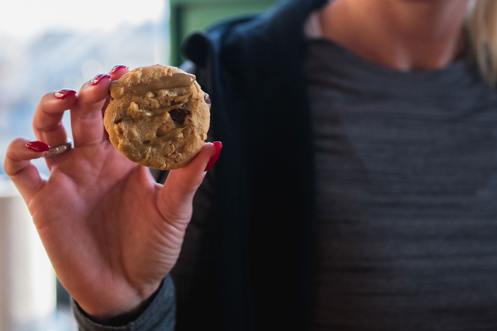 SunButter Cookies for runners