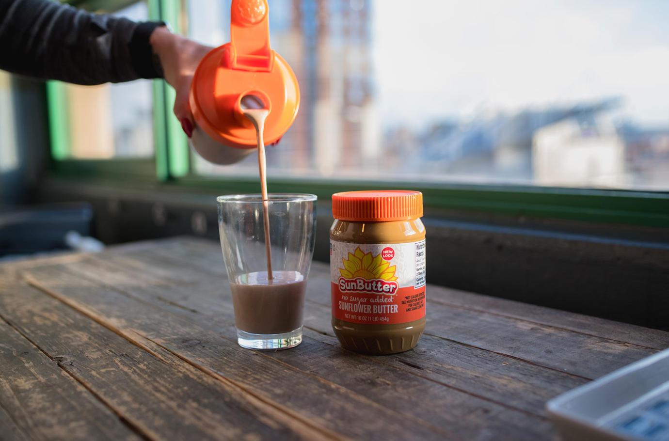 sunbutter-protein-shake