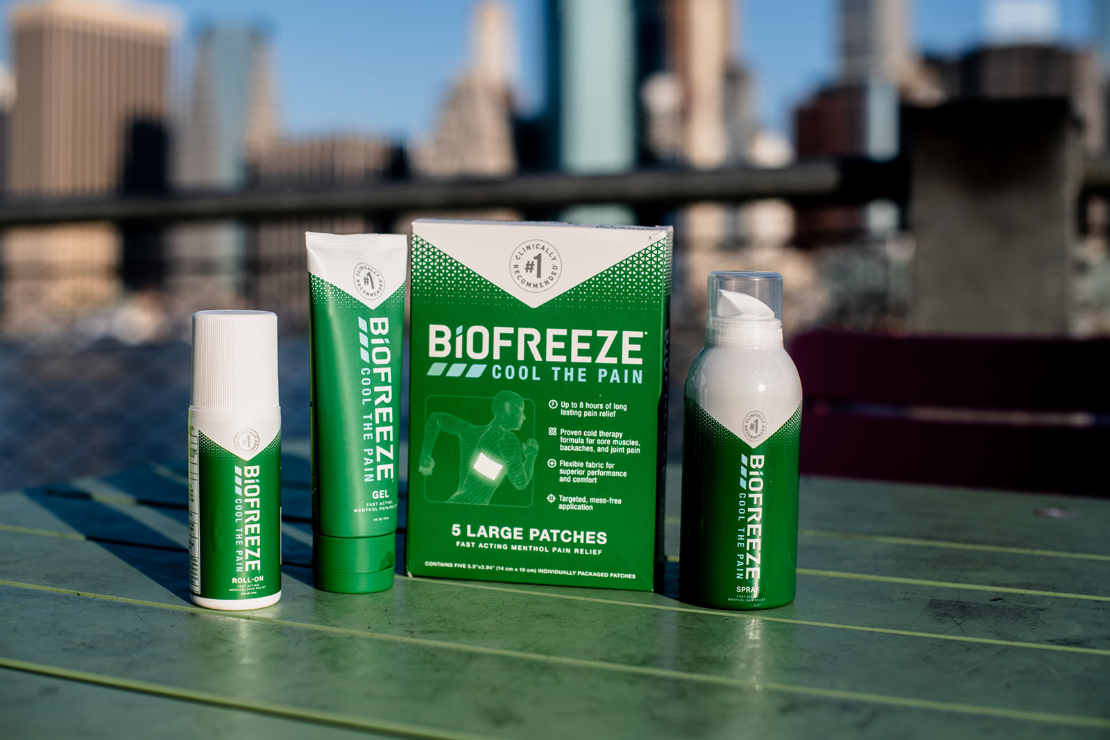 Biofreeze Products
