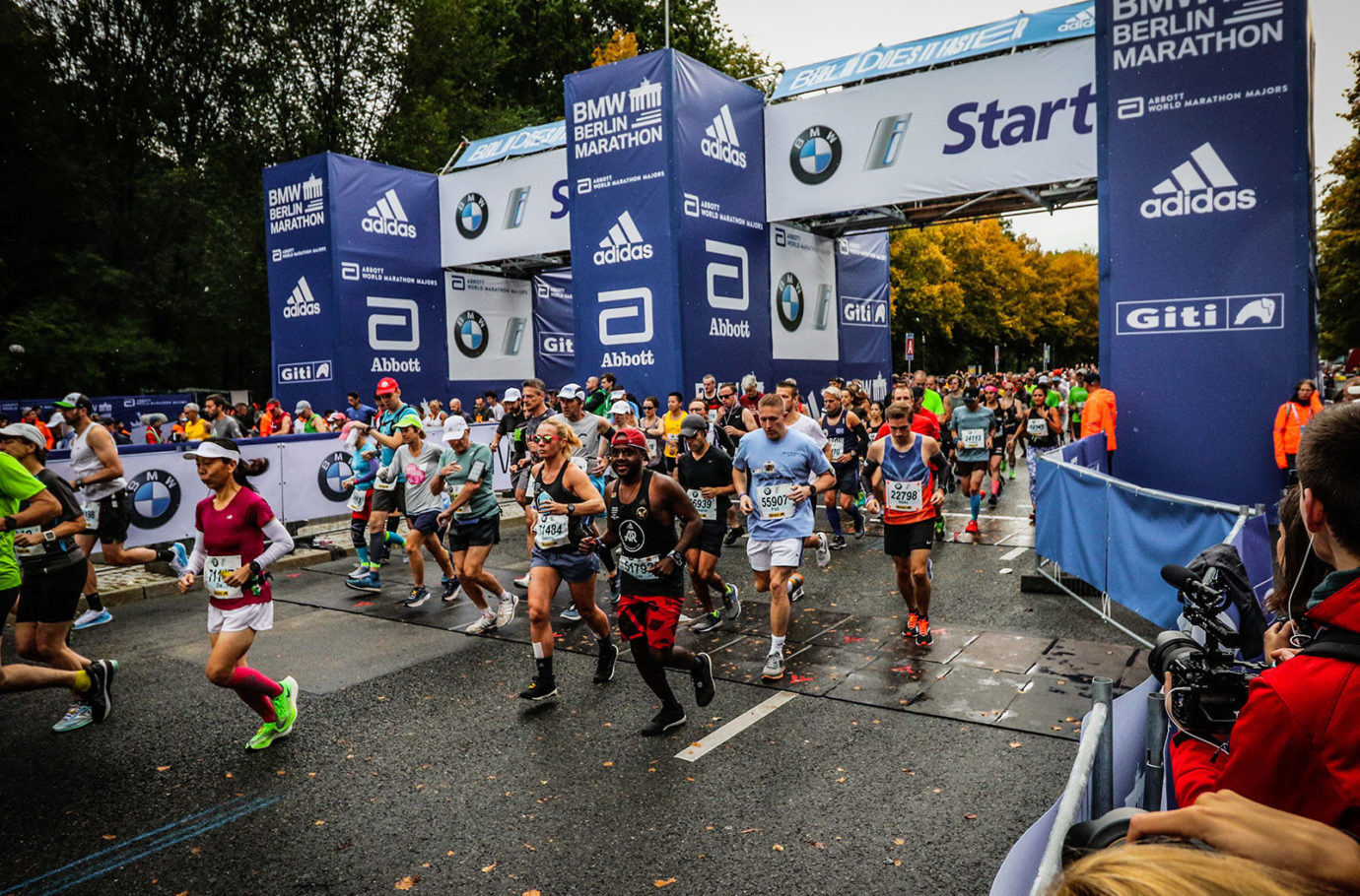 Berlin Marathon review: Start line